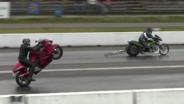 Dangerous Games-extremely fast motorbikes,street and pro-mods bikes run 1/4 mile