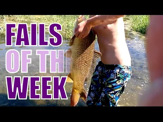 Fails of the Week: How not to fish! [October 2017]