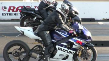 Gsxr 1000 vs Kawasaki Ninja vs Suzuki Hayabusa 1300- best of motorbikes drag racing,sound,top speed