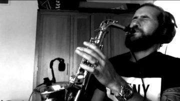 No man no cry – Jimmy Sax (live)