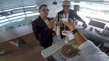 On Tour with Jimmy Sax (St Barth)