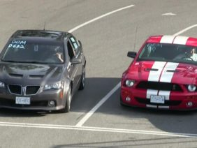 Pontiac g8 gt 2016 vs Shelby GT500-the best of drag races