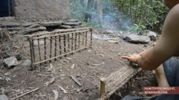 Primitive Technology: Woven bark fiber