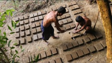 Primitive Tool : Make 100 mud brick