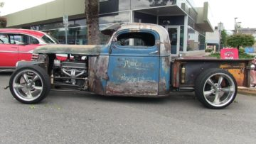 Rad rot from Hell-rusty chevy pickup truck-the best of hot rods series by Wheels