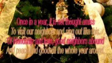 We wish you a Merry Christmas – The Weavers – (Lyrics)
